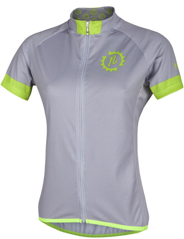 Nalini Women's Green-Grey SS Jersey