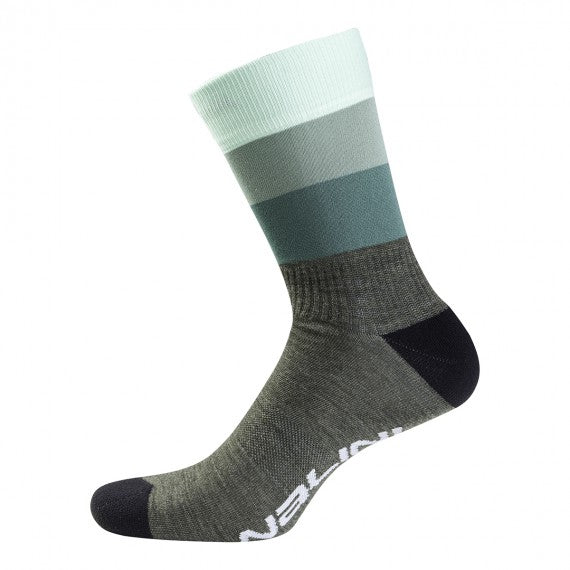 Nalini Sigma Wool Cycling Socks (GREEN)