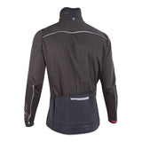 Nalini Double XWarm Black Thermal Jacket - Rear View