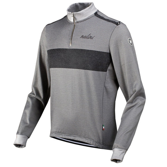 Nalini Wool Long Sleeve Cycling Jersey (Grey) - Sale