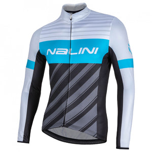 2018 Nalini MIZAR Long Sleeve Jersey - Blue - Sale