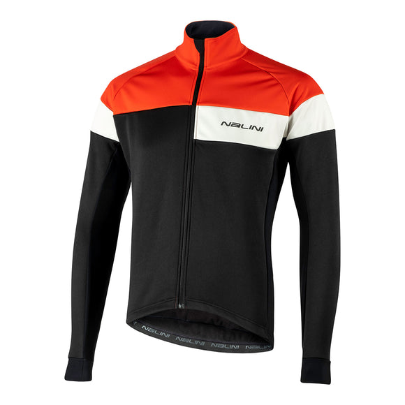 Nalini PISTA Warm Jacket 2021 - Red/Black