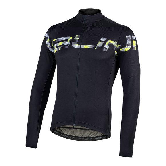 2020 Nalini PISTA Long Sleeve Jersey - Black