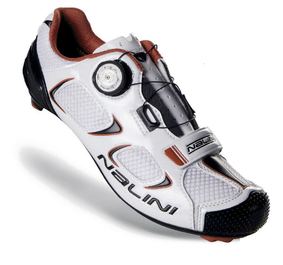 Nalini Snake White Road Shoes - SALE