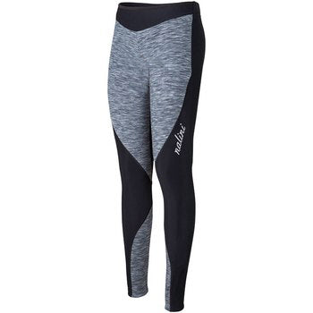 Nalini Women's Yoga Tights without Padded Insert (Grey/Black)