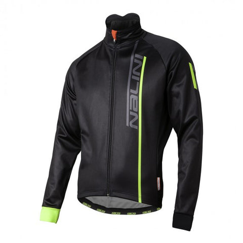 2017 Nalini XWarm Winter Jacket - Black/Fluo