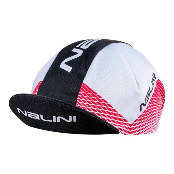 2020 Nalini Cycling Cap BERGEN Summer (Red/White/Black)