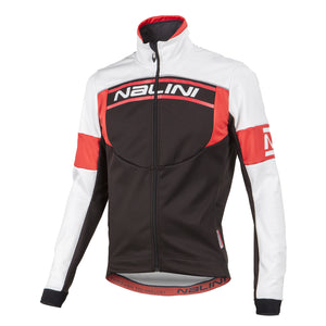 Nalini Classica Thermal Jacket in Black/Red