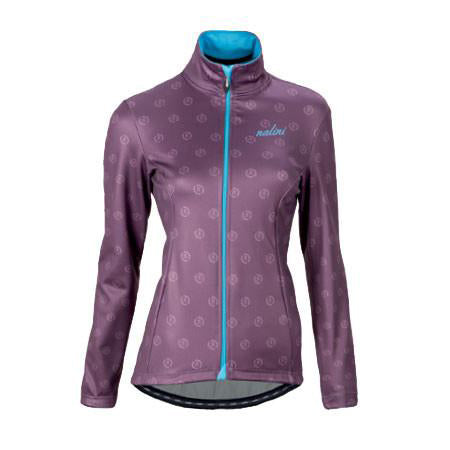 Nalini Women's Nalinissima Purple Thermal Cycling Jacket - SALE