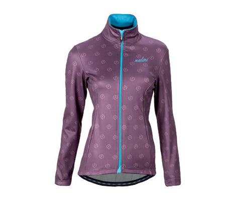 Nalini Women's Nalinissima Purple Print Thermal Jacket