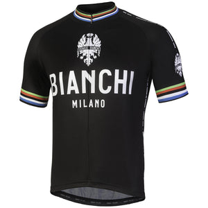 Bianchi-Milano NEW PRIDE Black SS Jersey 2019