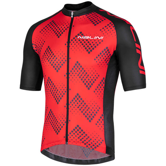 2019 Nalini Podio 2.0 SS Jersey - Black/Red