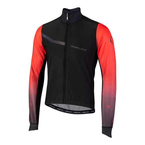 Nalini Pro Gara 2.0 Red Winter Cycling Jacket 2020