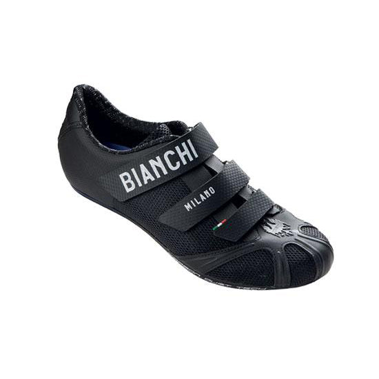 Bianchi Race Black Cycling Road Shoes