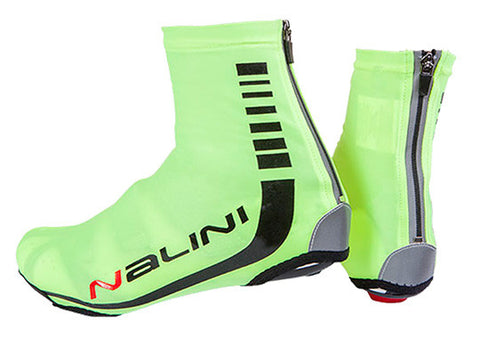 Nalini Neon Lycra Shoe Covers 2017