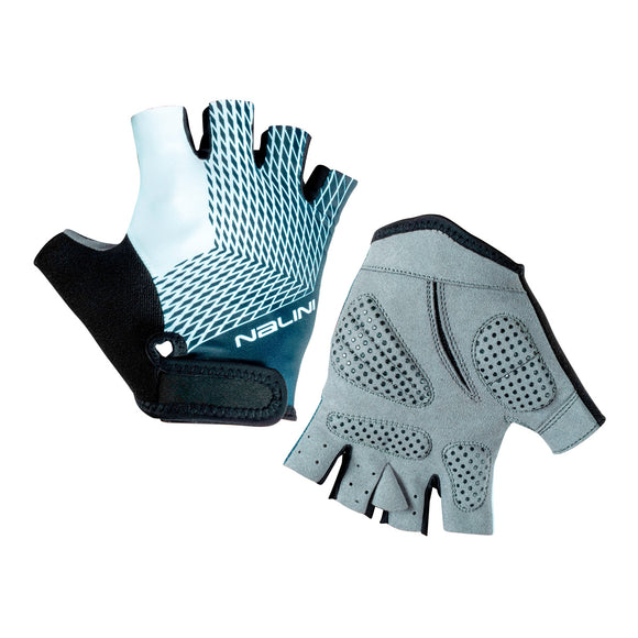 2020 Nalini Roxana Summer Cycling Gloves - Black/Blue/White