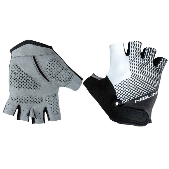 Nalini Roxana Summer Cycling Gloves - White/Black