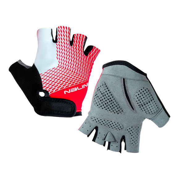2020 Nalini Roxana Summer Cycling Gloves - Black/Red/White