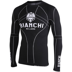 Bianchi-Milano VERANO Black Long Sleeve Baselayer