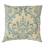 Traditions Village Blue Damask Pillow - Modernality Home Decor