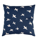Bird Silhouette Premier Navy Blue Pillow Case - Modernality Home Decor