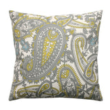 Henna Summerland Citrine Paisley Pillows