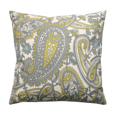 Henna Summerland Citrine Paisley Pillows - Modernality Home Decor