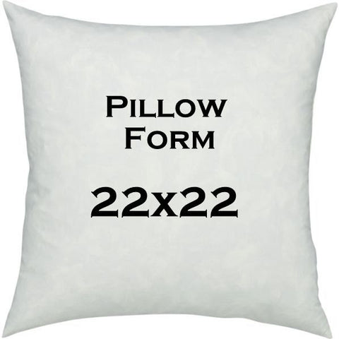 Pillow Form- 22x22 inch Pillow Insert