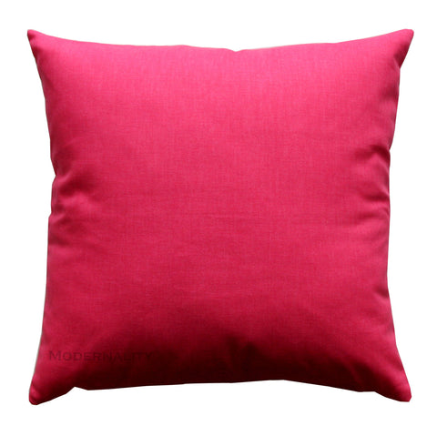 Dyed Solid Candy Pink Toss Pillow - Modernality Home Decor