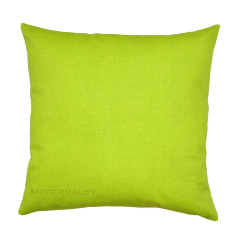 Dyed Solid Chartreuse Green Toss Pillow - Modernality Home Decor