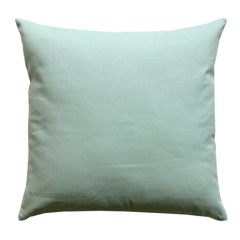 Dyed Solid VIllage Blue Throw Pillow - Modernality Home Decor