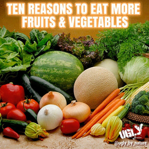 10 Reasons To Eat More Fruits & Vegetables