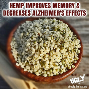 Hemp improves memory and decreases Alzheimer's effects
