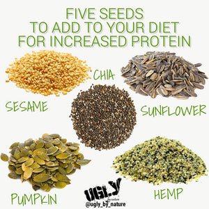 Five seeds to add to your vegan diet for increased protein