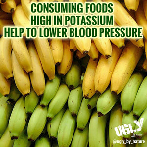 Consuming potassium rich foods can help lower blood pressure