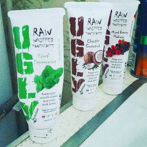 UGLY by nature toothpaste review