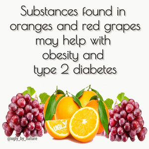 Substance in red grapes and oranges may help with type 2 diabetes