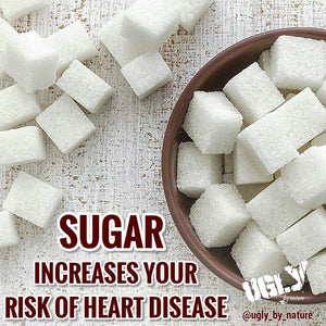 Sugar increases your risk of heart disease