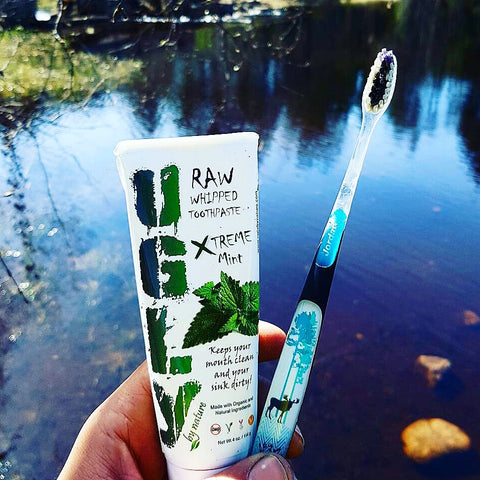 Ugly by nature fluoride free toothpaste