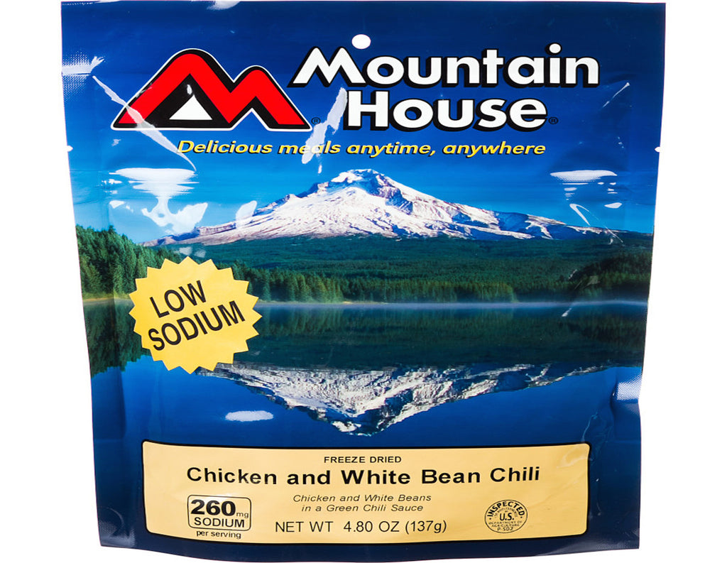 Mountain House- Chicken and White Bean Chili
