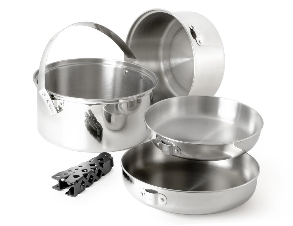 Glacier Stainless Steel Cookset Large
