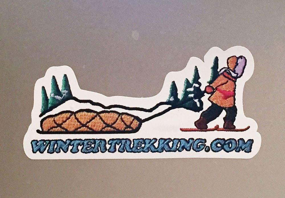WINTERTREKKING.COM - STICKER