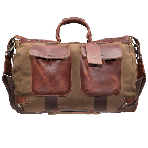 Canvas & Leather Traveler Duffle