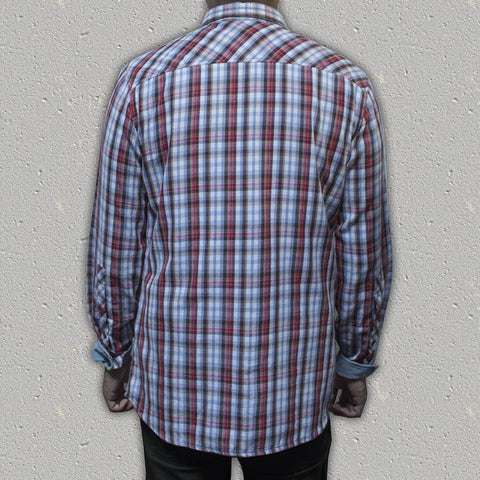 BANKS - 100% Yarn-Dyed Cotton Long-Sleeve Shirt (Slim Fit)