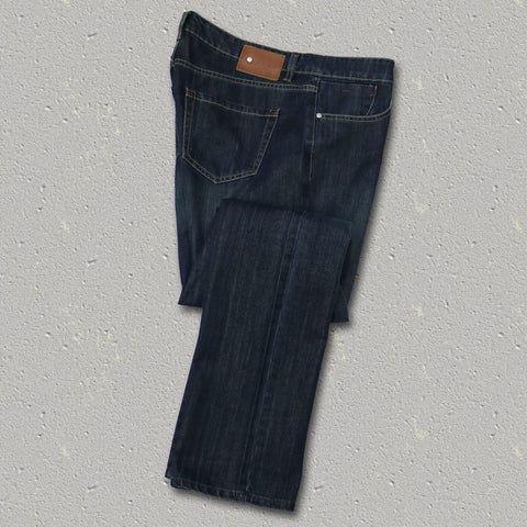 FOSTER (Straight Fit) Cotton/Tencel 5-Pocket Denim Jean