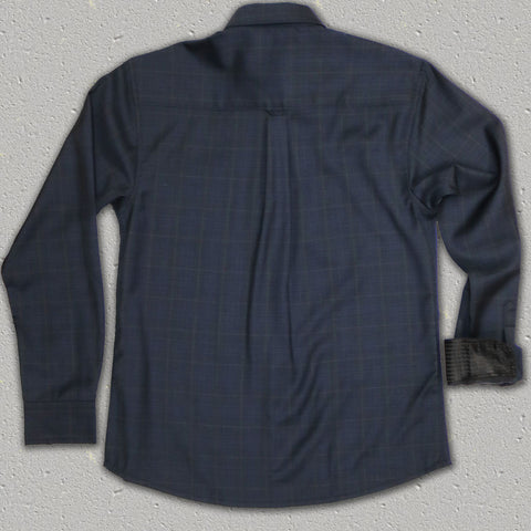 DANIEL - 100% SuperFine Merino Wool Long Sleeve Shirt