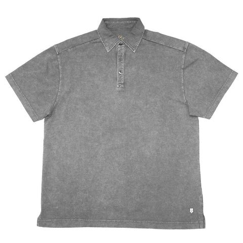 BROOKSIDE - Slub Cotton Polo Short Sleeve Shirt