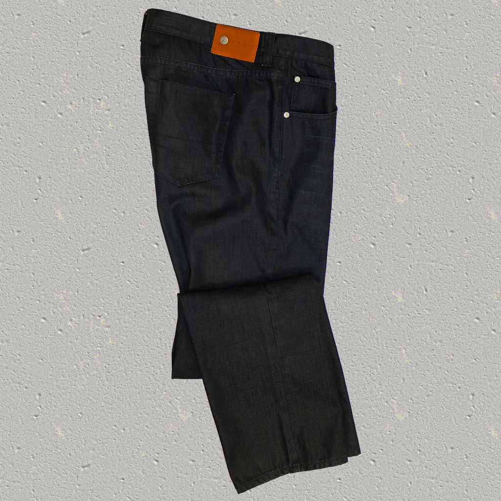 "BROGAN - 5 Pocket ""Coated"" Denim"