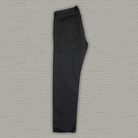 SHALE - 5-Pocket Selvedge Twill Cotton Pant - Black