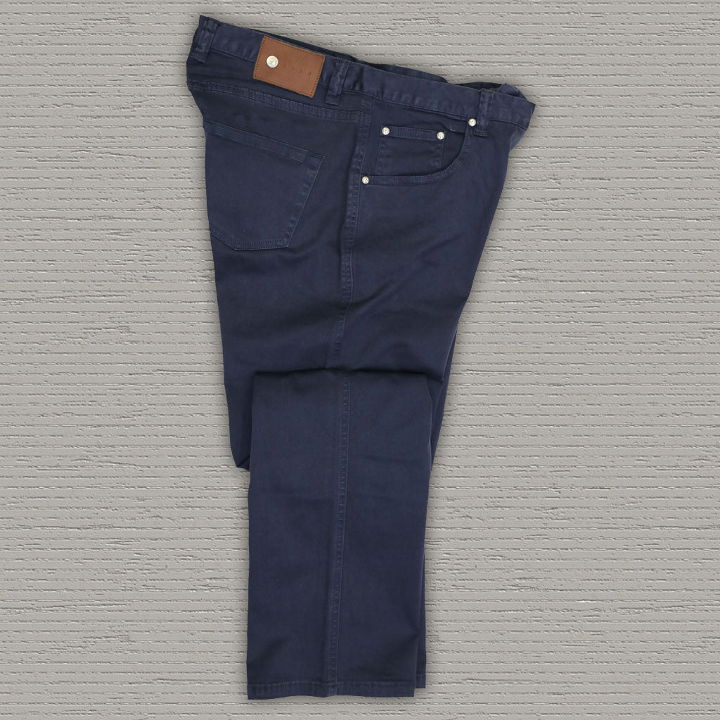 SPENCE - 5 Pocket Stretch Twill Pant - India Ink